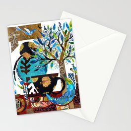'a bit of moon tea ...' Stationery Cards