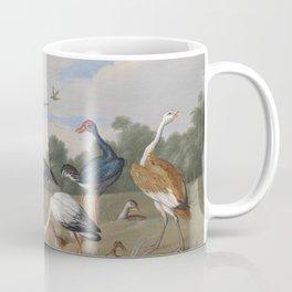 Jan van Kessel , Reiher und Enten, birds Coffee Mug