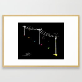 """""""Pigeon"""" Tips Framed Art Print"""