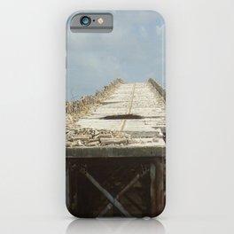 Bridge to Nowhere (Florida Keys) bridge ruins of old Florida A1A by Jeanpaul Ferro iPhone Case