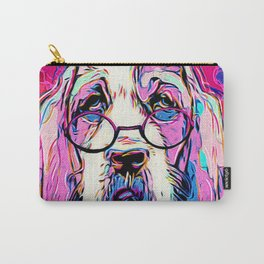 Amused Bassett Carry-All Pouch
