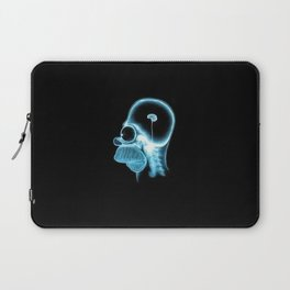 Homer Brain Laptop Sleeve