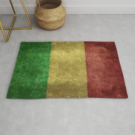 The National flag of the Republic of Mali Rug