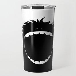 """I know how to brush my teeth"" Monster Travel Mug"