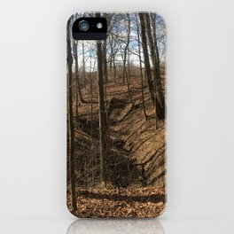 Winter Gully iPhone Case