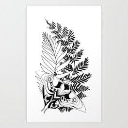 Evolution The Last of Us 2 Tattoo Ellie Art Print