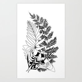 Evolution The Last of Us 2 Tattoo Ellie Art Print