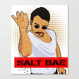 SALT BAE Shirt Canvas Print