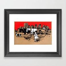 Else Framed Art Print