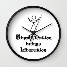 Simplification brings Liberation Wall Clock