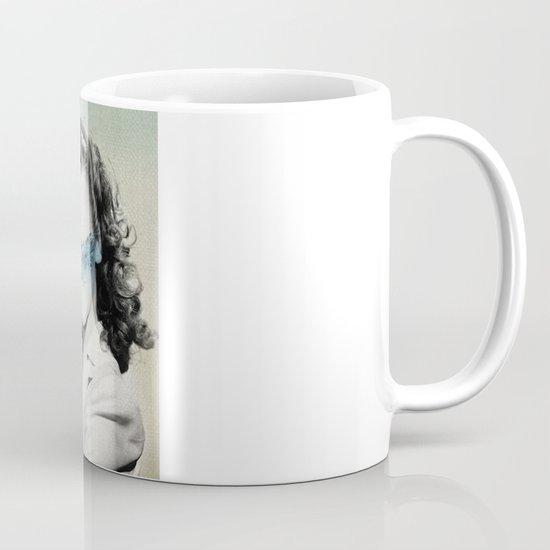 the glass half full Mug