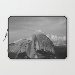 Half Dome in Black and White Laptop Sleeve