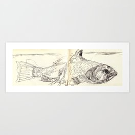Dream Fish Art Print