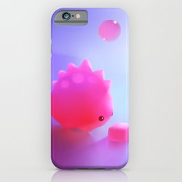 Bubble Gum Dino iPhone Case