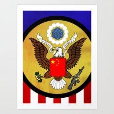 American Capitalist Art Print