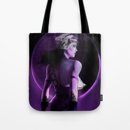 By the Power of the Purple Moon Tote Bag