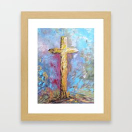 Colors of the Cross Framed Art Print