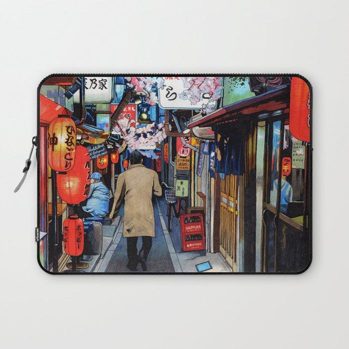 Memory Lane Tokyo Spring Laptop Sleeve