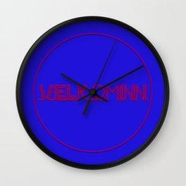 Velkominn Neon Wall Clock