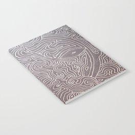 Melting eye Notebook