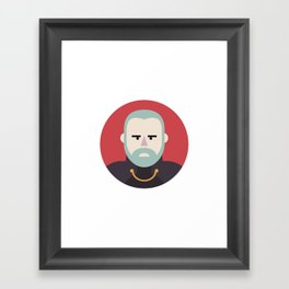 Darth Tyranus Framed Art Print
