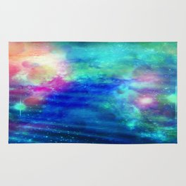 Stars And Waves Rug