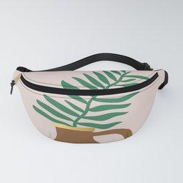 Palm leaf Fanny Pack