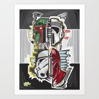 "The ""Bad"" Art Print"