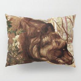 """Baloo"" the Bear from Kipling's Tales of India Pillow Sham"