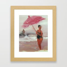 Rosé Summer Framed Art Print