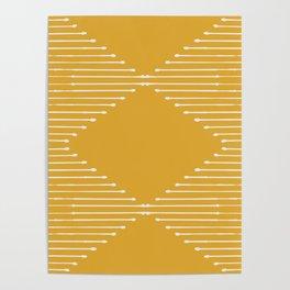 Geo / Yellow Poster