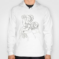 mermaids Hoodies featuring Mermaids by Coily and Cute
