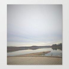 Crisp Lake Canvas Print