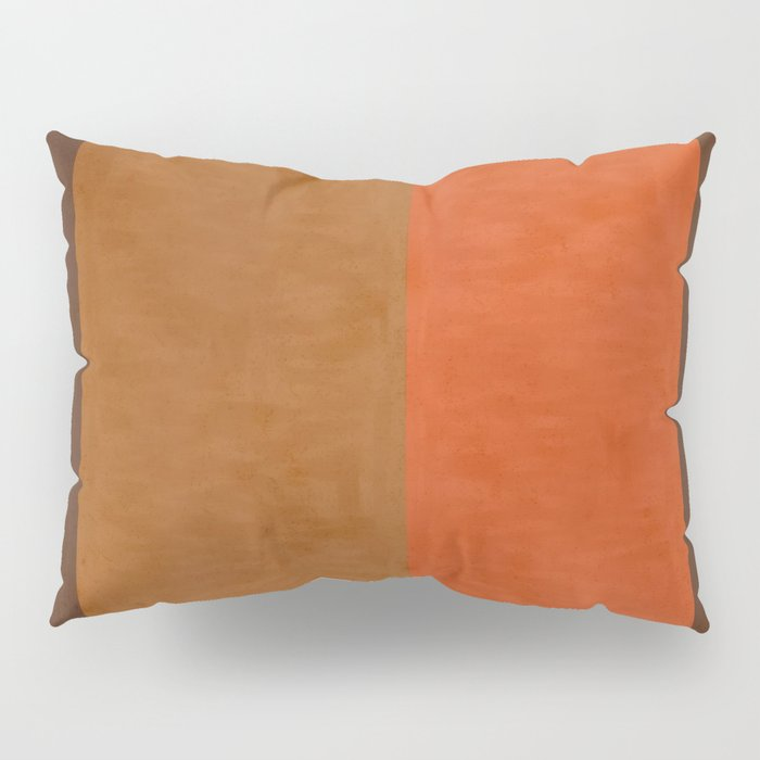 Shades of Brown Pillow Sham