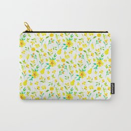 Pears, honey and spring flowers Carry-All Pouch