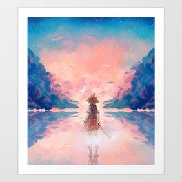 KH Art Print