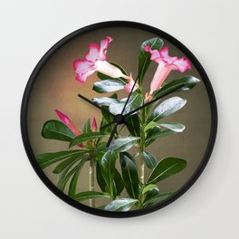 Spade's Desert Rose Wall Clock