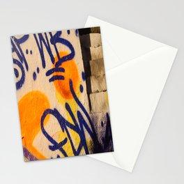 sunset graffitti nyc Stationery Cards