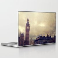 london Laptop & iPad Skins featuring London by The Last Sparrow