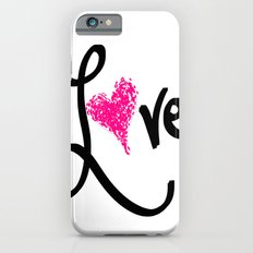 Love with your heart Slim Case iPhone 6s