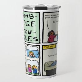 Cambridge struggles: Plans Travel Mug