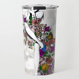 Garden Dress Travel Mug