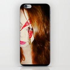 Blood + Lipstick iPhone & iPod Skin