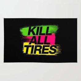 Kill All Tires v2 HQvector Rug