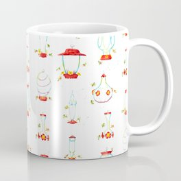 Hummingbird Feeders Pattern Coffee Mug