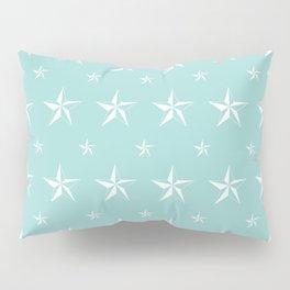 Stella Polaris Turquoise Design Pillow Sham