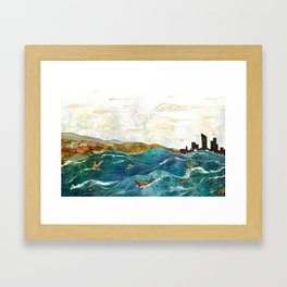 The Grand River Framed Art Print
