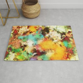 A distorted impact Rug
