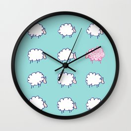 Be unique be you Wall Clock