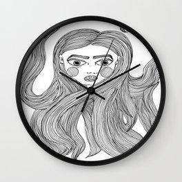 Lindsay's hair Wall Clock